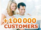 Remote control Express : more than 100 000 customers.
